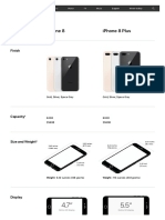 iPhone 8 - Technical Specifications - Apple