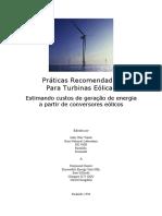 Custos de Turbinas Eolicas