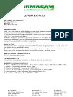 Aloe Vera Po Farmacam