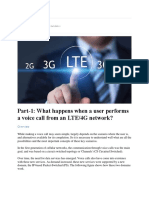 Part-1 What Happens When a User Performs a Voice Call From an LTE_4G Network