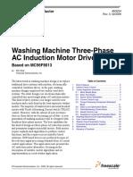 Washinng Machine Three Phase Induction Motor Drvive