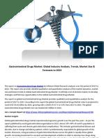 Gastrointestinal Drugs Market