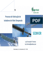 Isoladores de Vidro Luis Fernando P Ferreira