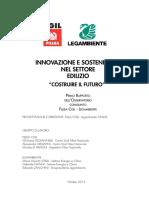 Innovazione Sostenibilita In edilizia 2012