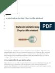 How to Write a Detective Story_ 7 Keys _ Now Novel