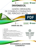 2da. Reunióm Ordinaria de Consejo Consultivo 2017 B.