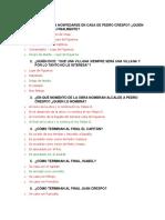 Examen de El Alacalde de Zalamea
