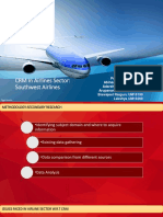 CRM for aviation sector