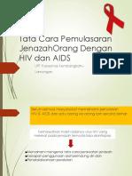 Tata Cara Pemulasaran JenazahOrang Dengan HIV AIDS