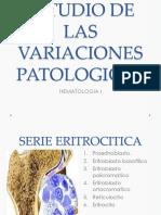 1. Estudio de Las Variaciones Patologicas