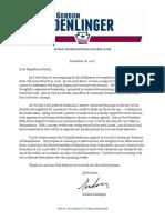 RSC Announcement Letter