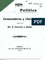 Carrera Justiz sociología política conservadores y liberales Cuba 1908.pdf