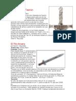 Espadas de Faerun