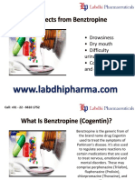 Benztropine Mesylate Injection