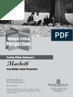 Macbeth Multiple Perspectives