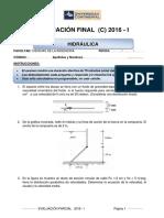 Examen Final - Hidraulica (c)