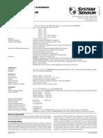 I56 2294 006R  System Sensor