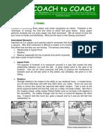 Fluid Footwork in Tennis