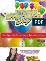 10 Customer Appreciation