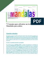 7 Consejos Para Afrontar Un Trabajo de Mandalas Para Niño1