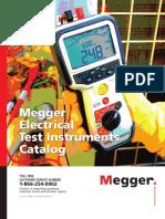 Megger Electrital Instruments