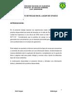 edafología- informe otuzco