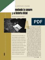 Violencia, Desinformación e Impunidad Desmontando La Censura y La Historia Oficial