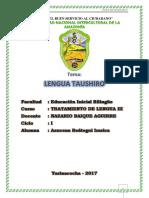 Lengua Taushiro