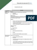 Protocolo de Sesión y Consentimiento