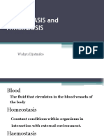 19. Hemostasis and Thrombosis