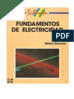 Fundamentos de Electricidad, (Schaunm); Gussow, Milton