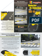 MULTISENAL REDUCTOR DE VELOCIDAD RDV 45