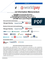 Vantiv Worldpay Confidential Information Memorandum Sep 7