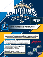 Captains 2018 Corporate Partnership Presentation