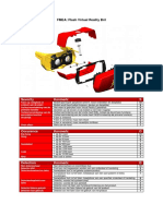 project ix - fmea-tabel flash virtual reality bril