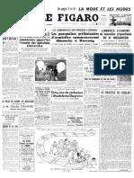 Le Figaro du 5 juillet 1951