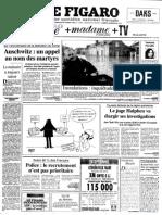 Le Figaro du 28 octobre 1995