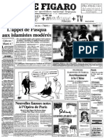 Le Figaro du 12 août 1994