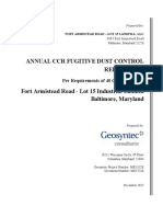 Lot15 Annual Fugitive Dust Control Report 2017