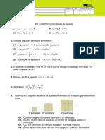Equações 8º Ano