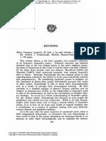 """Reseña de """"Micer Francisco Imperial. El Dezir de las siete virtudes y otros poemas"""" (1977)"""