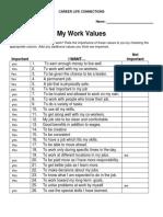 work values - asha