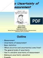 TL- Guide to Uncertainty of Measurement