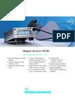 Rohde&Schwarz EB200 HF Reciever Datasheet