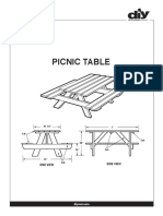 Table - Picnic Table (blueprint only).pdf