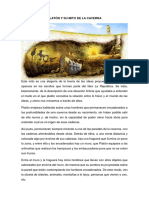 Tarea Platón y Su Mito de La Caverna