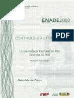 ExameNacional DesempenhoEstudantes ENADE Engenharia de Controle e Automacao 2008 RelatorioCurso