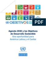 Agenda 2030 Onu Cepal