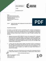 Presidencia no ha sido informada sobre designación de Gloria Gómez en el CNE