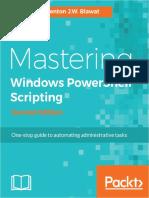 Mastering Windows PowerShell Scripting, 2nd Edition